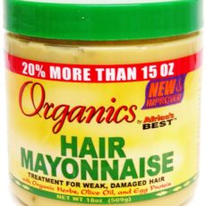 Product Review: Organics Hair Mayonnaise