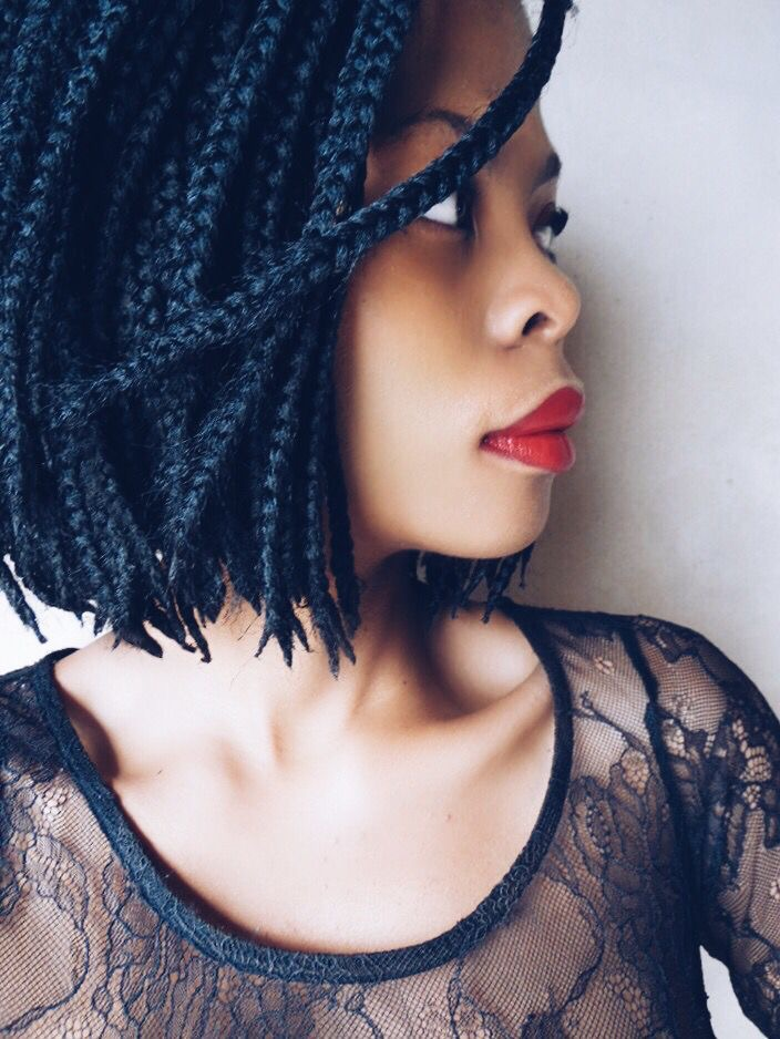Get The Look Bob Box Braids The Kink And I