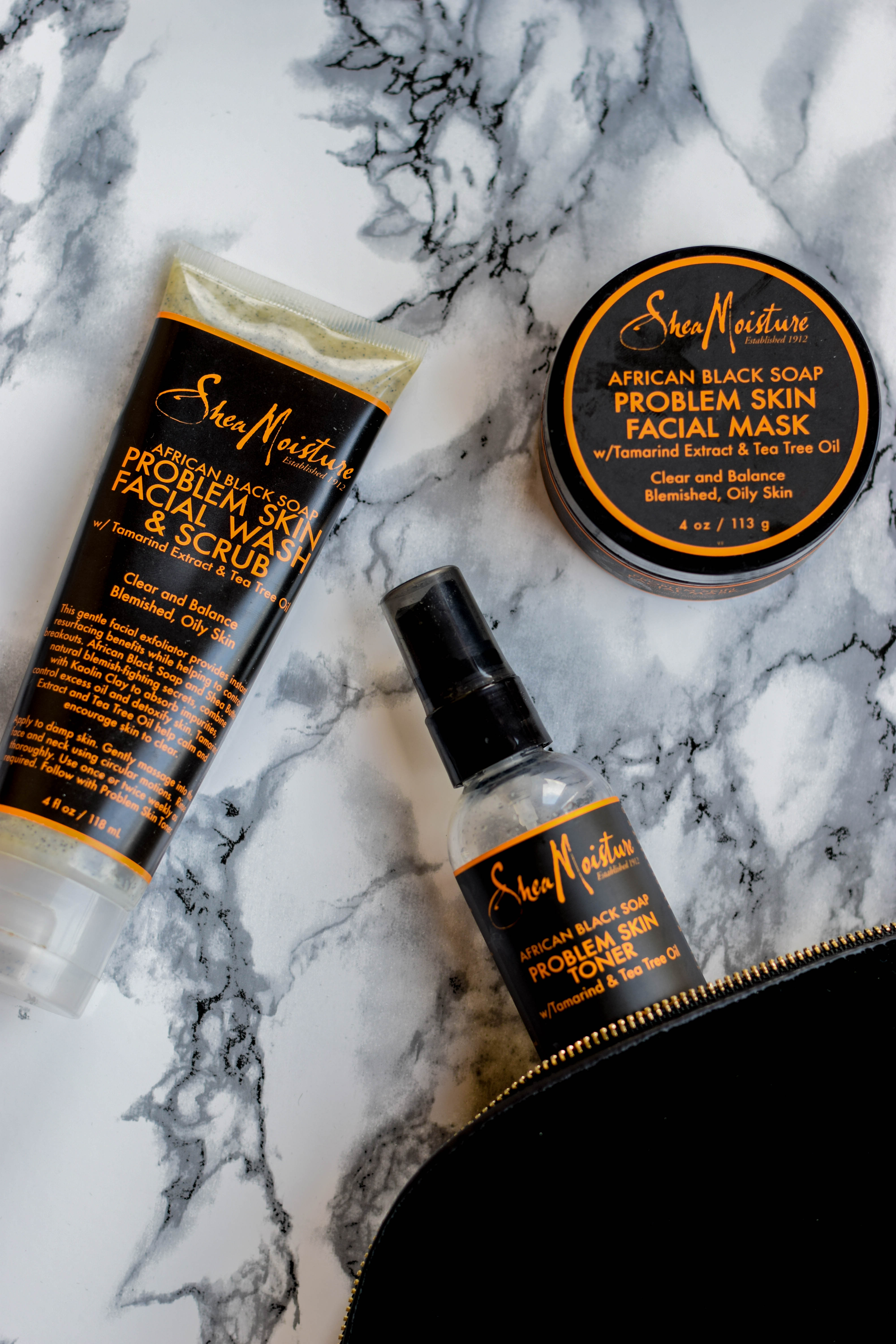 African Black Soap Facial Wash And Scrub by SheaMoisture #6